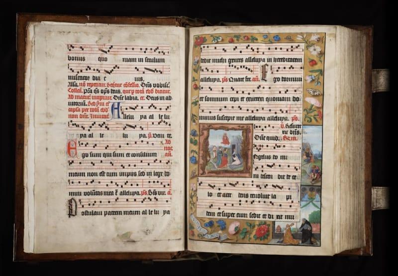 Zeven eeuwen gregoriaanse handschriften in Vlaanderen