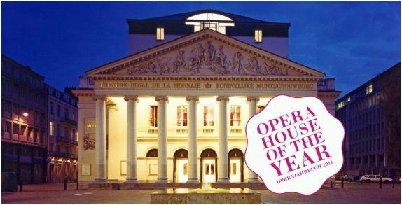 De Munt operahuis van het jaar