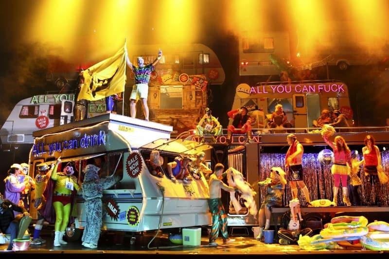 Aufstieg und Fall der Stadt Mahagonny in Vlaamse Opera
