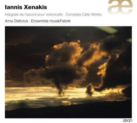 Iannis Xenakis, integraal cello oeuvre