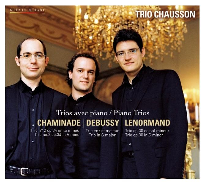 Pianotrio's van Chaminade, Debussy, Lenormand