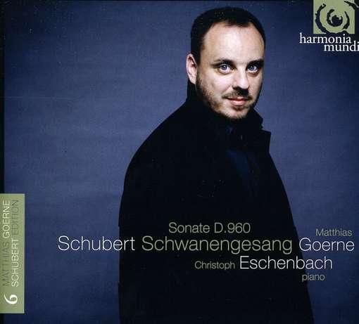 Matthias Goerne zingt Schwanengesang