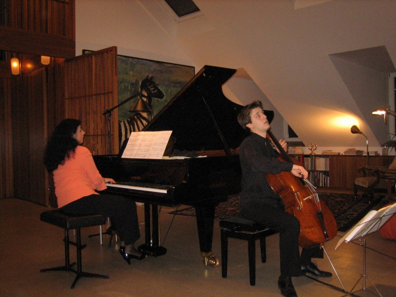 Maximilian Hornung (cello) & Milana Chernyavska (piano)