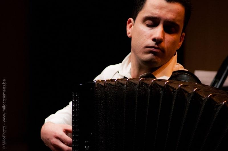 Podium Jonge Musici verbaast met accordeon