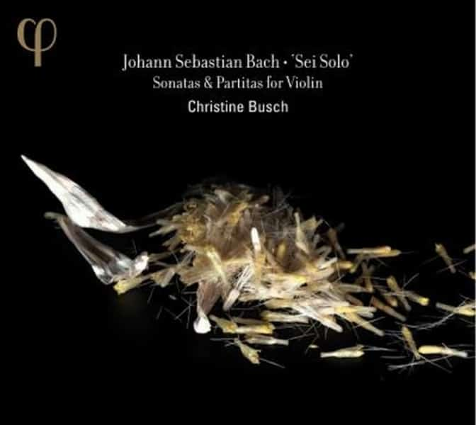 Johann Sebastian Bach en viool