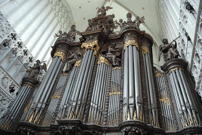 Restauratie Schyvenorgel in kathedraal van Antwerpen