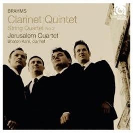 Johannes Brahms door Jerusalem Quartet en Sharon Kam
