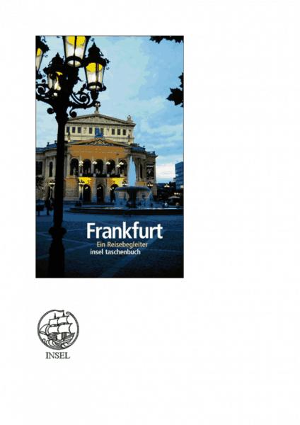 """De """"literarischen Reisebegleiter"""" van """"insel taschenbuch"""""""