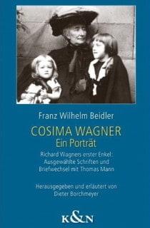 Cosima Wagner van Franz Wilhelm Beidler