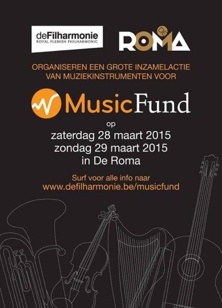 Music Fund wordt 10 jaar !