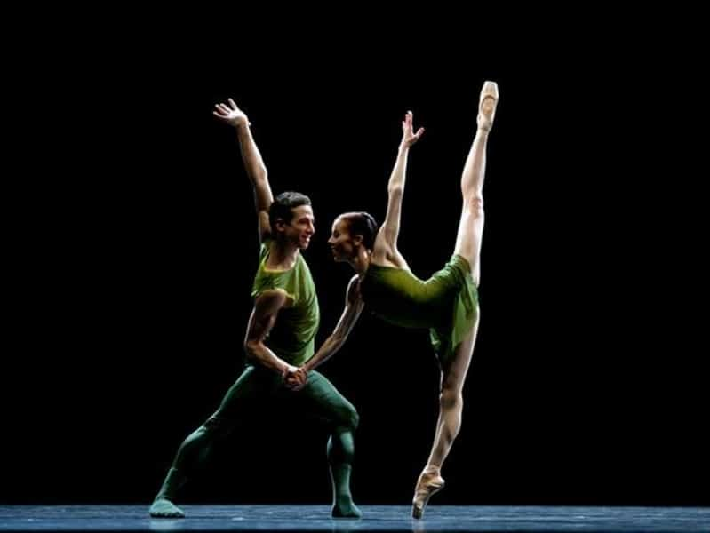 Semperoper Ballett Dresden met Ein William Forsythe Ballettabend