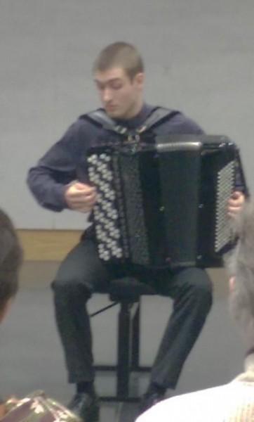 Accordeoncompetitie voor jonge solisten
