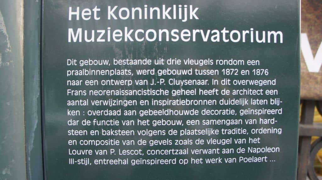 Wordt Conservatoriumdesaster Brussel toch gered?
