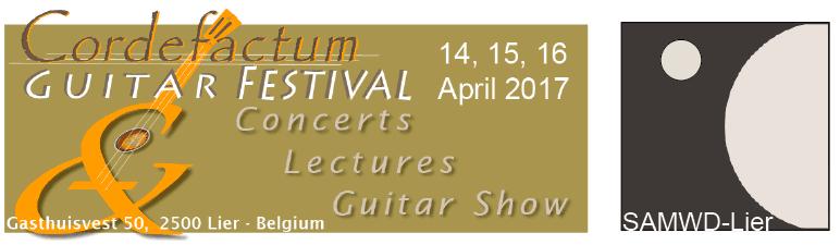 Het Cordefactum Gitaarfestival in de muziekacademie van Lier
