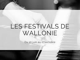 Les Festivals de Wallonie in een nieuw jasje