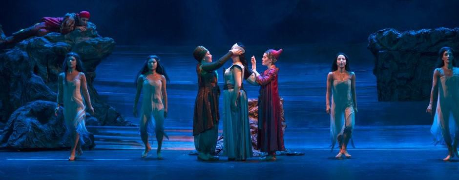 Dido and Aeneas op het netvlies gebrand en in het oor geknoopt