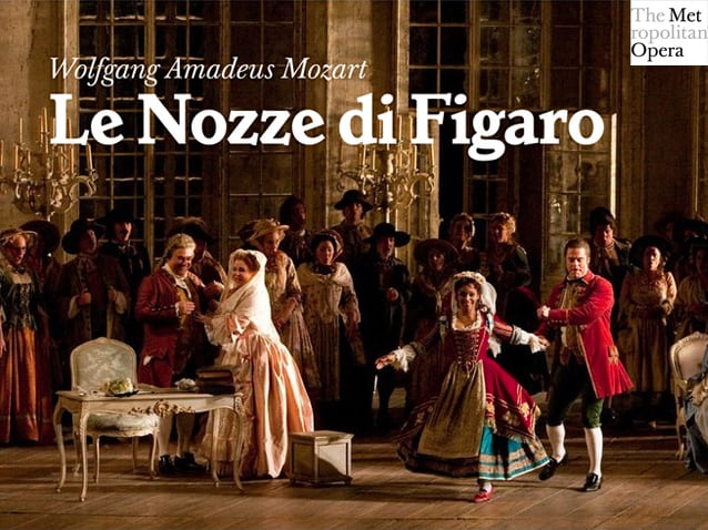 Le Nozze di Figaro baadt in Mozartiaans pastel