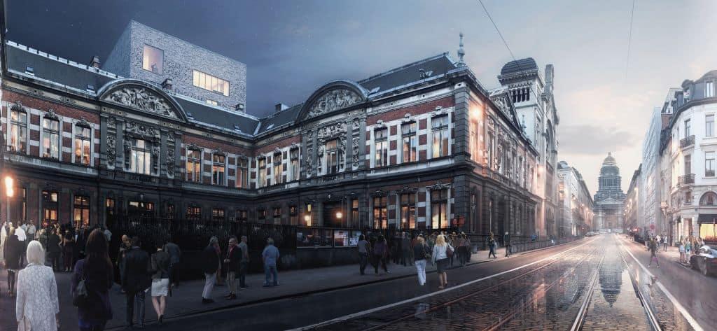 De aanhouder wint: Brussels conservatoriumgebouw wordt gerenoveerd !