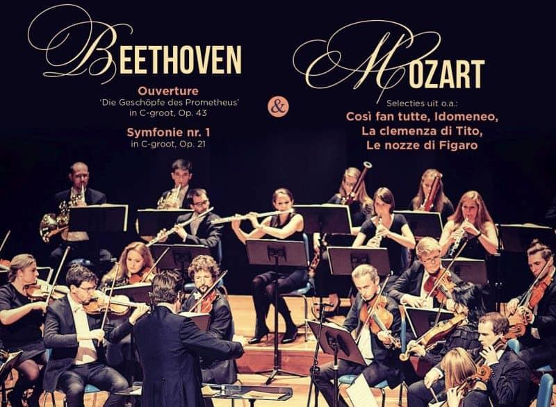 Mozart en Beethoven laten de pannenkoeken wachten