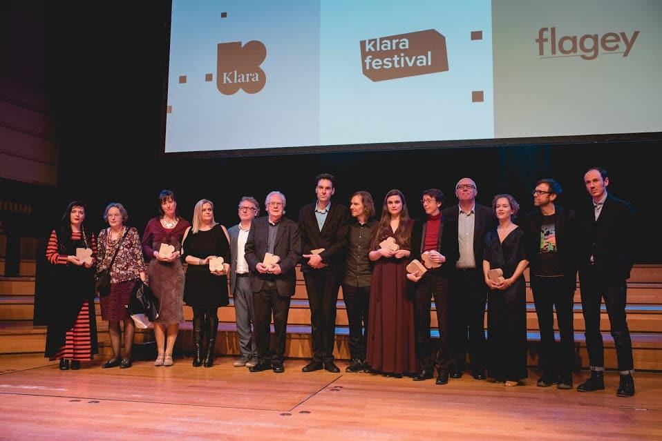 Klara's voor 'deSingel-man' Jerry Aerts, koormissionaris Jef Cleymans en spectrale klankvrouw Annelies Van Parys