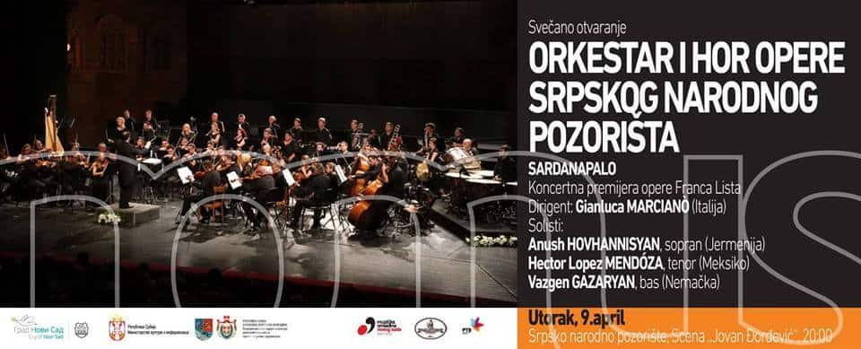 Sardanapalo enige opera van Franz Liszt opent NOMUS Festival