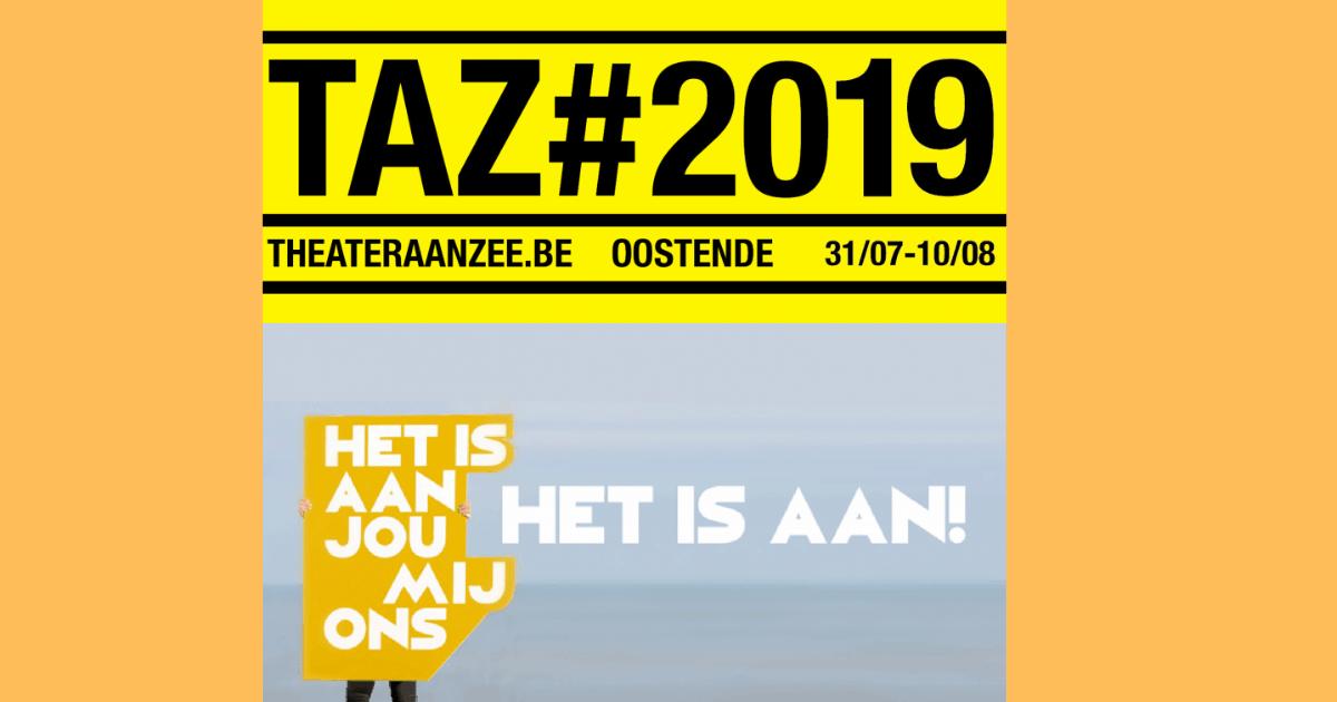 #TAZ19 'Het is aan jou, mij, ons'