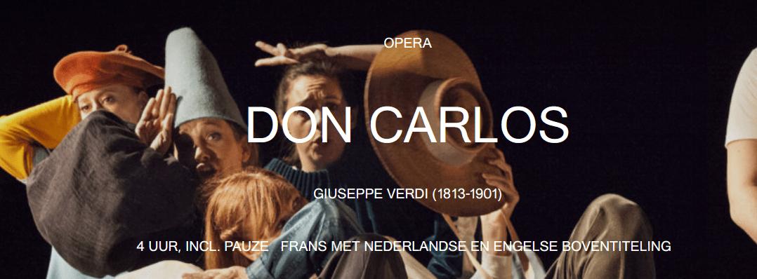 Opera Ballet Vlaanderen opent met Don Carlos